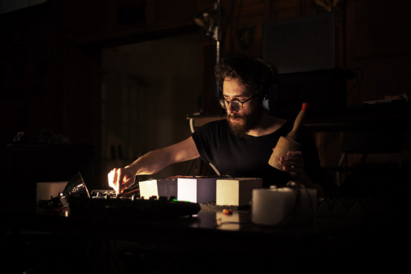 Brad Nath creates sound at the nexus of art and materials science.